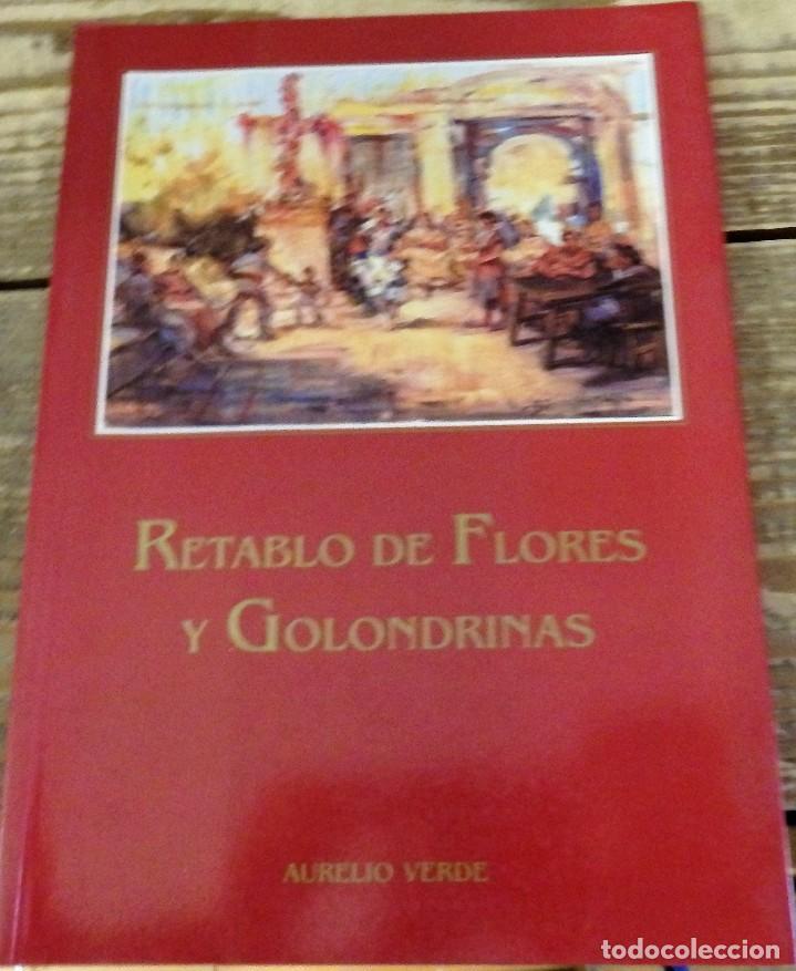 SEMANA SANTA SEVILLA,RETABLO DE FLORES Y GOLONDRINAS. VERDE, AURELIO (Libros sin clasificar)