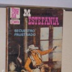 Libros: SECUESTRO FRUSTRADO MARCIAL LAFUENTE ESTEFANIA COLECCION CALIBRE 44 Nº 737 - BRUGUERA -. Lote 113156159