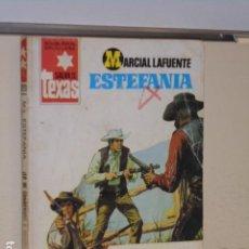Libros: ¡LO HE CONDENADO A MORIR! MARCIAL LAFUENTE ESTEFANIA COLECCION SALVAJE TEXAS Nº 1273 - BRUGUERA -. Lote 113158207