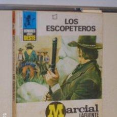 Libros: LOS ESCOPETEROS MARCIAL LAFUENTE ESTEFANIA COLECCION HOMBRES DEL OESTE Nº 216 - BRUGUERA -. Lote 113160035