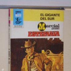 Libros: EL GIGANTE DEL SUR MARCIAL LAFUENTE ESTEFANIA COLECCION HOMBRES DEL OESTE Nº 466 - BRUGUERA -. Lote 113160859