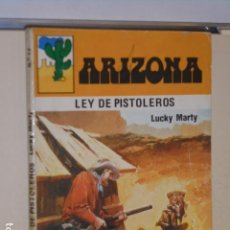 Libros: LEY DE PISTOLEROS LUCKY MARTY COLECCION ARIZONA Nº 13 - TECNIPRESS -. Lote 113161683