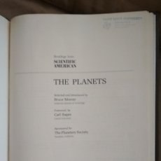 Libros: THE PLANETS - READINGS FROM SCIENTIFIC AMERICAN. Lote 113453619