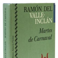 Libros: VALLE-INCLÁN, RAMÓN DEL: MARTES DE CARNAVAL (CÍRCULO DE LECTORES) (CB). Lote 113985427