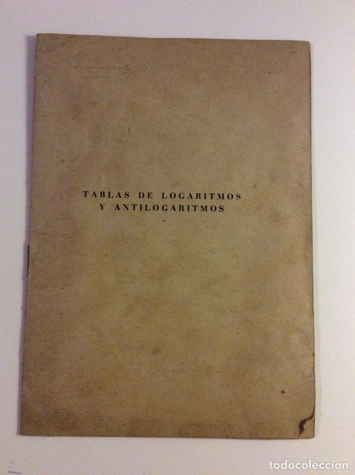 TABLAS DE LOGARITMOS Y ANTILOGARITMOS (Libros sin clasificar)