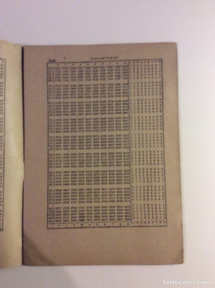 Libros: Tablas de logaritmos y antilogaritmos - Foto 2 - 114285954