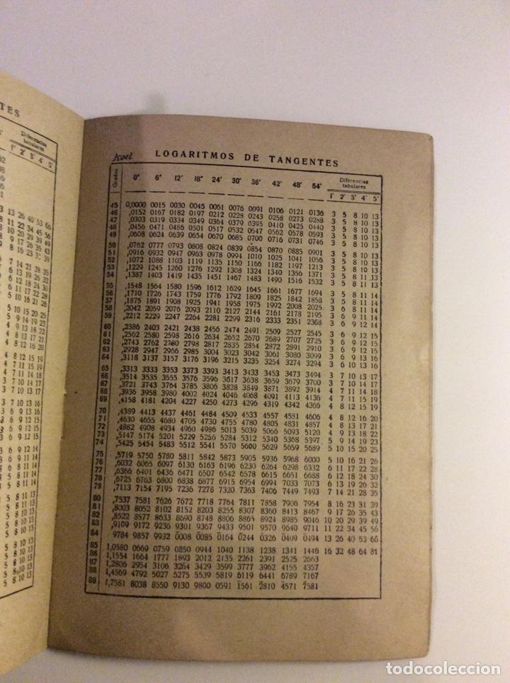 Libros: Tablas de logaritmos y antilogaritmos - Foto 3 - 114285954