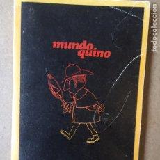 Libros: 183L278 MUNDO QUINO - EDITORIAL LUMEN. LIBRO DE VIÑETAS (MAFALDA). Lote 114591924