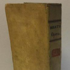 Libros: Q. HORATII FLACCI SERMONUM, SEU SATYRARUM, SEU ECLOGARUM LIBRI DUO... [HORACIO.] 1579. Lote 114799450