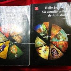 Libros: OFERTA UN ESTUDIO CRITICO DE LA HISTORIA FONDO DE CULTURA ECONOMICA. Lote 115239547