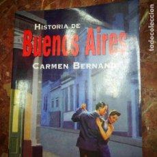 Libros: HISTORIA DE BUENOS AIRES FONDO DE CULTURA. Lote 115242059
