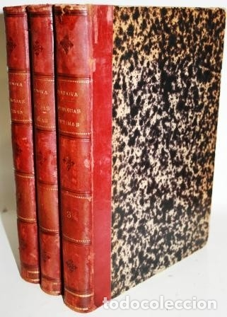 Libros: MIS MEMORIAS ÍNTIMAS. 3 tomos - FERNÁNDEZ DE CÓRDOVA, Fernando (Marqués de Mendigorría) - Foto 2 - 114868566