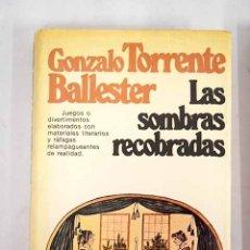 Libros: LAS SOMBRAS RECOBRADAS. Lote 115349406