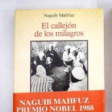 Libros: EL CALLEJÓN DE LOS MILAGROS. Lote 115349412