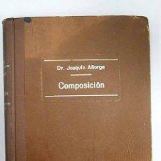 Libros: COMPOSICIÓN. Lote 115349438