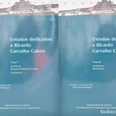 Libros: ESTUDOS DEDICADOS A RICARDO CARVALHO CALERO. TOMO I / TOMO II (EDICIÓN COMPLETA). Lote 115483234