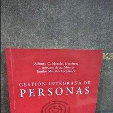 Libros: GESTION INTEGRADA DE PERSONAS. UNA PERSPECTIVA DE ORGANIZACION. DESCLEE DE BROUWER 1999. VVAA.. Lote 115507159