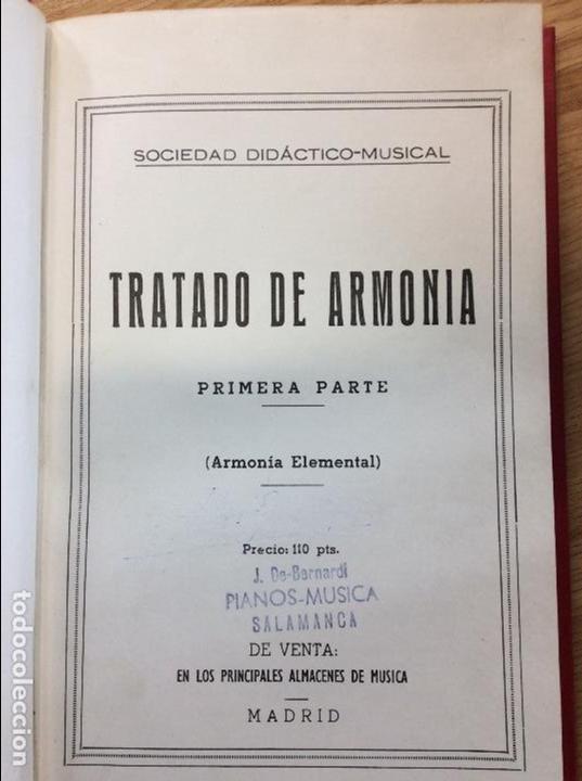 TRATADO DE ARMONIA ELEMENTAL (Libros sin clasificar)