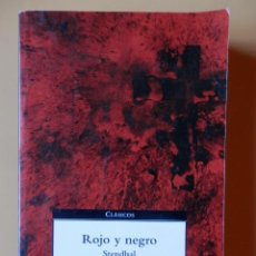 Libros: ROJO Y NEGRO - STENDHAL. Lote 115761670
