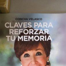 Libros: CLAVES PARA REFORZAR TU MEMORIA - VELASCO, CONCHA. Lote 115876010