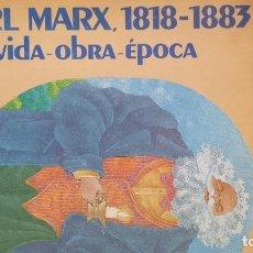 Libros: KARL MARX, 1818-1883 VIDA - OBRA - ÉPOCA - FUNDACION FRIEDRICH EBERT. Lote 115876014