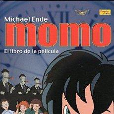 Libros: MOMO. EL LIBRO DE LA PELÍCULA - MICHAEL ENDE. ADAPTADO POR CARLO FRABETTI. Lote 115876018