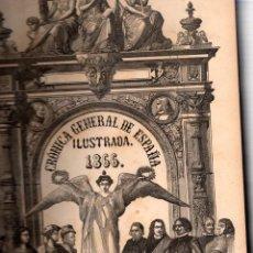 Libros: CRÓNICA GENERAL DE ESPAÑA ILUSTRADA 1866. CONTIENE LAS PROVINCIAS DE MADRID, GUADALAJARA, CUENCA, TO. Lote 116068743