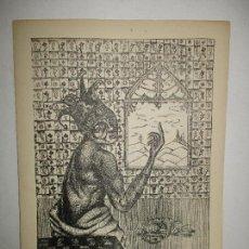 Libros: LA PINTURA DE JUAN PONÇ. - [CATÁLOGO] CIRLOT, JUAN-EDUARDO.. Lote 116516475