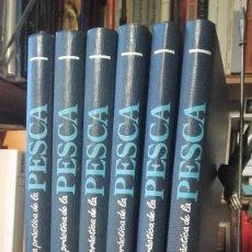 Livres: ENCICLOPEDIA GUIA PRACTICA DE LA PESCA. 6 TOMOS. COMPLETA, (DE AGOSTINI, 1991). Lote 116855871