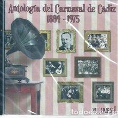 Libros: ANTOLOGÍA DEL CARNAVAL DE CÁDIZ 1884-1975 VOLUMEN 1 - CD NUEVO. Lote 116881047