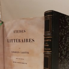 Libros: LABITTE (CHARLES) - LABITTE (CHARLES). Lote 117198346