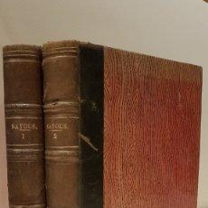 Libros: SAYOUS (A.) - SAYOUS (A.). Lote 117198350
