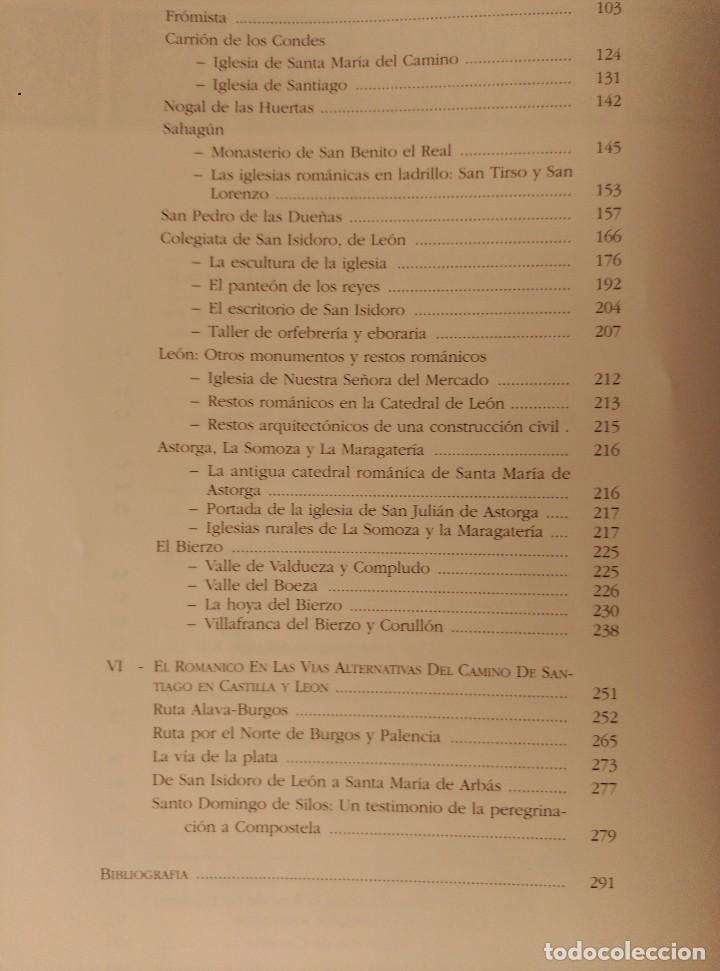 Libros: EL ROMANICO EN TORNO AL CAMINO DE SANTIAGO EN CASTILLA Y LEON - Foto 12 - 117513203