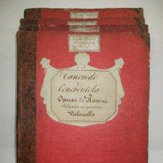 Libros: [TANCREDO Y CENERENTOLA REDUCIDAS EN QUARTETOS.] - ROSSINI, G.. Lote 117642867