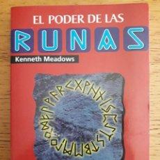 Libros: EL PODER DE LAS RUNAS / KENNETH MEADOWS / MARTÍNEZ ROCA / 1ª EDICIÓN 1997. Lote 117700323