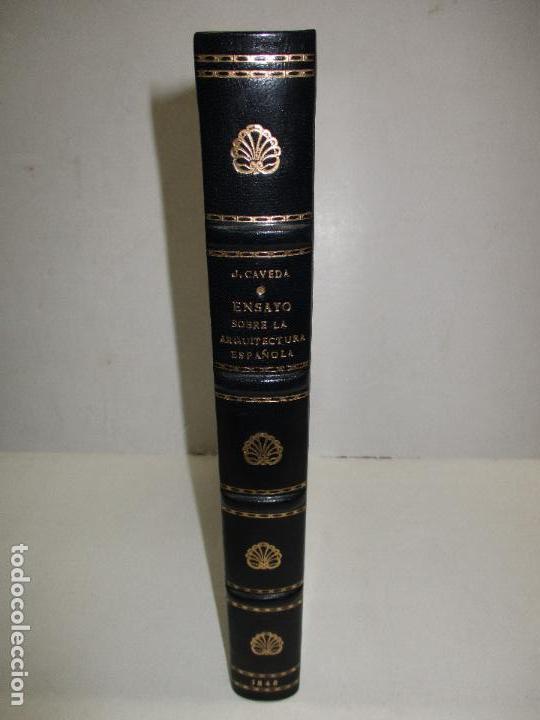 Libros: ENSAYO HISTÓRICO SOBRE LOS DIVERSOS GÉNEROS DE ARQUITECTURA empleados en España desde la dominacion - Foto 2 - 118132615