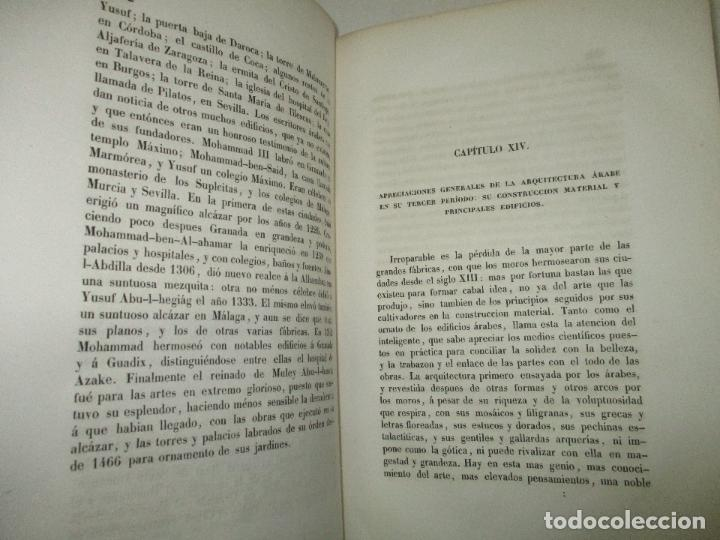 Libros: ENSAYO HISTÓRICO SOBRE LOS DIVERSOS GÉNEROS DE ARQUITECTURA empleados en España desde la dominacion - Foto 5 - 118132615