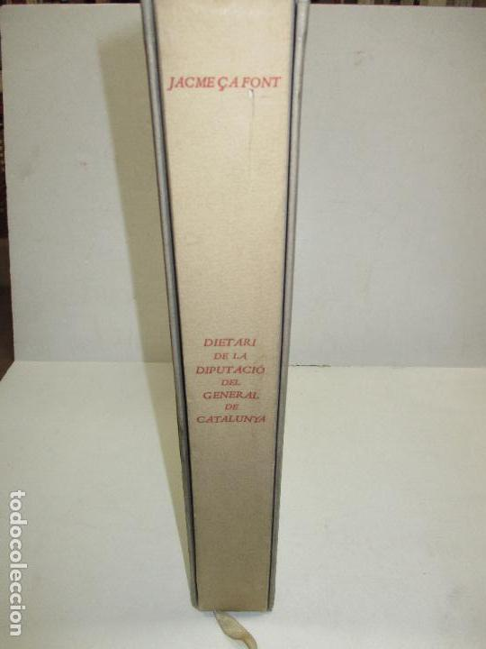 Libros: DIETARI DE LA DIPUTACIÓ DEL GENERAL DE CATALUNYA. 1454 A 1472. - FONT, Jacme Ça. - Foto 2 - 118190379