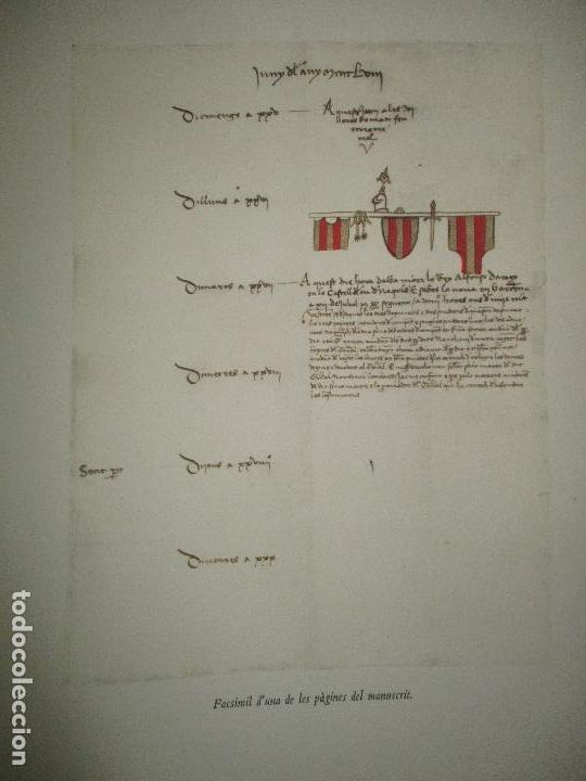 Libros: DIETARI DE LA DIPUTACIÓ DEL GENERAL DE CATALUNYA. 1454 A 1472. - FONT, Jacme Ça. - Foto 4 - 118190379