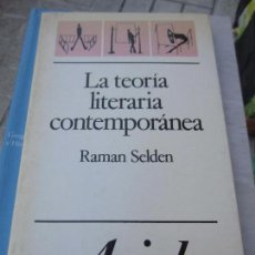 Libros: LA TEORIA LITERARIA CONTENPORANEA RAMAN SELDEN. Lote 118436315