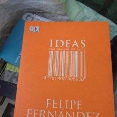 Libros: IDEAS FELIPE HERNANDEZ . Lote 118521379