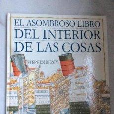 Libros: EL ASOMBROSO LIBRO DEL INTERIOR DE LAS COSAS ALTEA . Lote 118574931