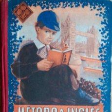 Libros: METODO DE INGLES. PRIMER GRADO. EDITORIAL EDELVIVES. LIBRO.. Lote 118960171