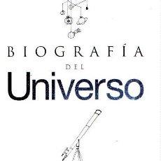 Libros: BIOGRAFÍA DEL UNIVERSO - MARTÍNEZ MENDIZÁBAL, SUSANA. Lote 119063063