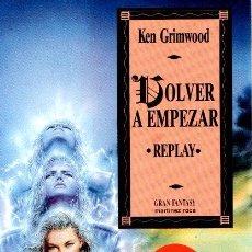Libros: VOLVER A EMPEZAR - GRIMWOOD, KEN. Lote 119063111