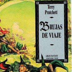 Libros: BRUJAS DE VIAJE - PRATCHETT, TERRY. Lote 119063123