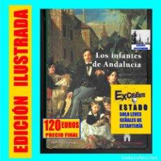 Libros: LOS INFANTES DE ANDALUCÍA - RICARDO MATEO SAINZ DE MEDRANO - BORBÓN ORLEANS MONTPENSIER - RARÍSIMO. Lote 119152899