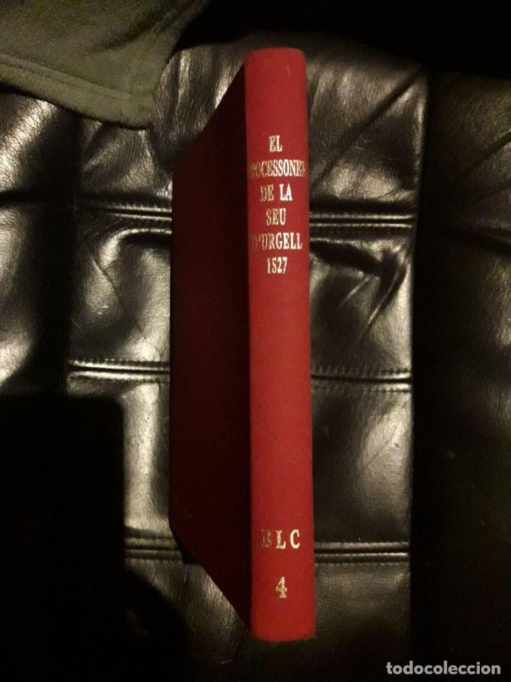 EL PROCESSONER DE LA SEU D'URGELL IMPRÈS L'ANY 1527 / EDICIÓ FACSÍMIL A CURA DE FRANCESC XAVIER ALTÉ (Libros sin clasificar)