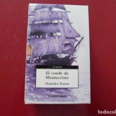 Libros: EL CONDE DE MONTECRISTO. ALEJANDRO DUMAS. 2 VOL. DEBOLSILLO 2003 670 Y 732PP. Lote 121370515