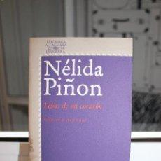 Libros: TEBAS DE MI CORAZON, NELIDA PIÑON. ALFAGUARA 1978. Lote 121473871